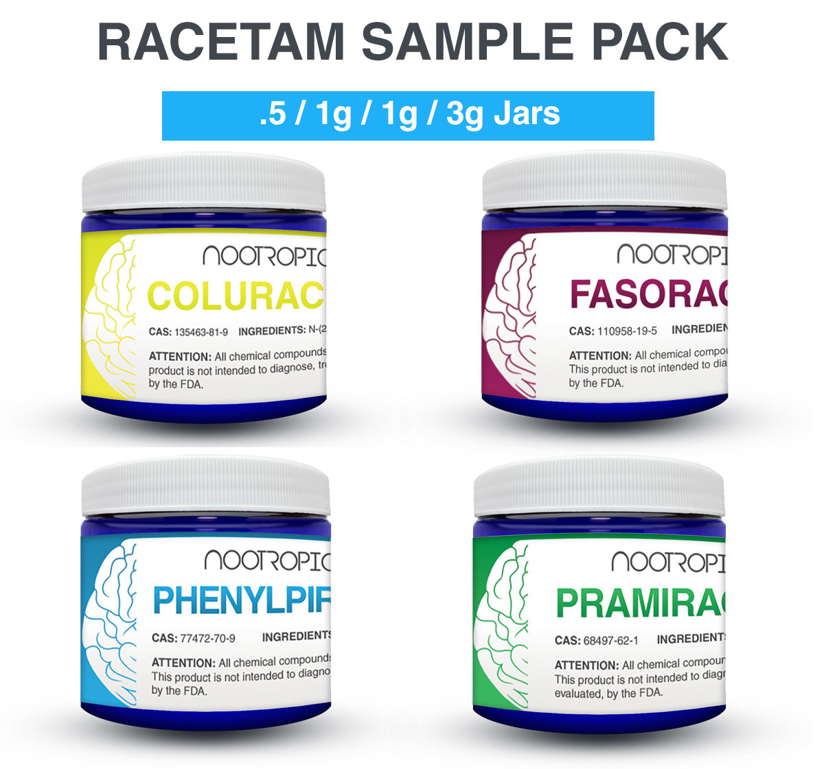 ADVANCED RACETAM SAMPLE PACK