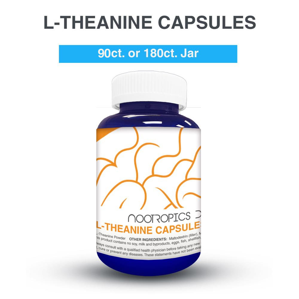 L-THEANINE 200MG CAPSULES