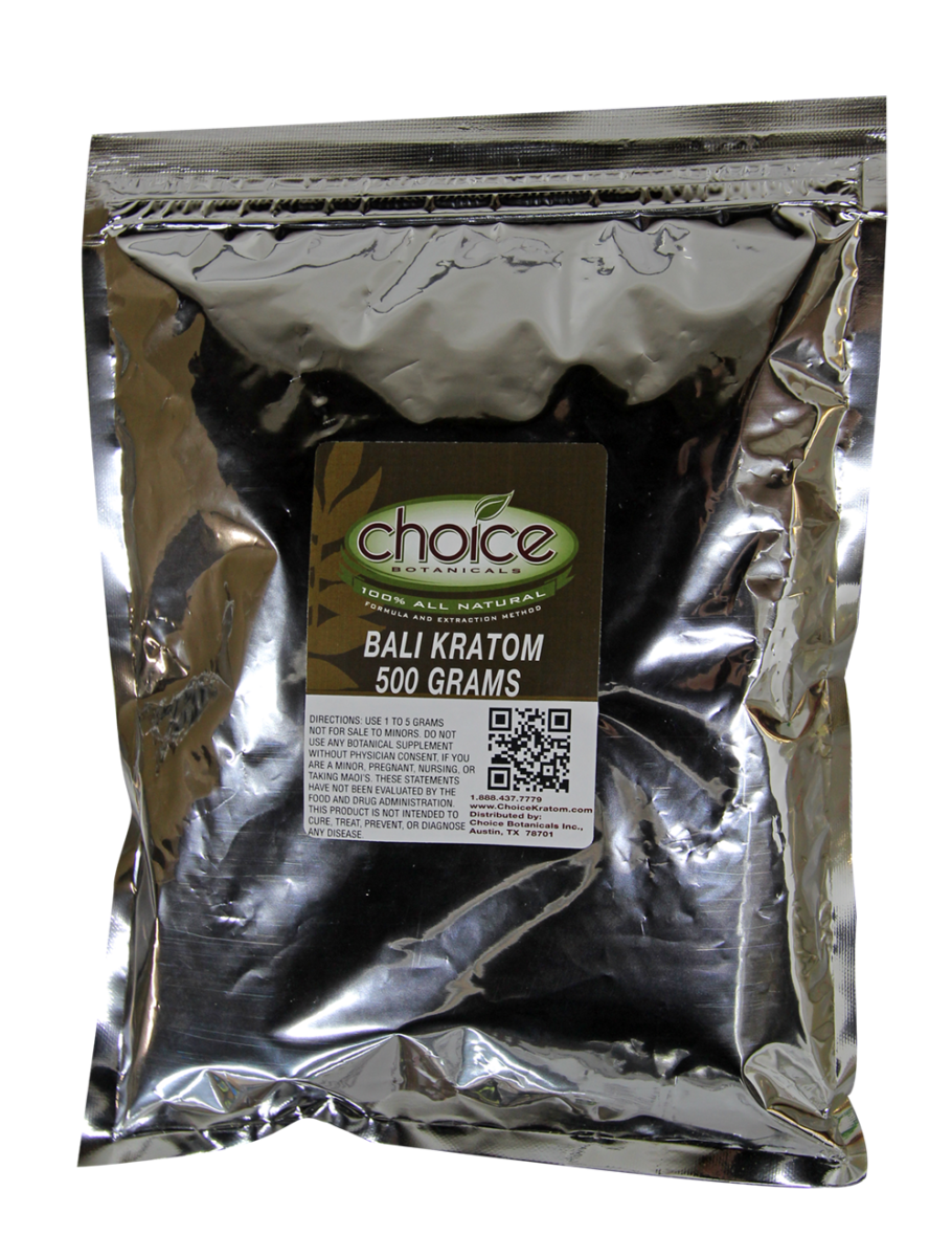 Bali Kratom 500Gm Powder by Choice Botanicals